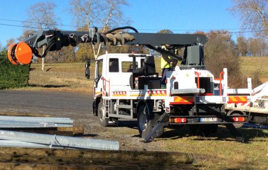 Grue de levage tarière grue de forage camion gruegrue_de_forage_RISA_G2T_ECO.KPL
