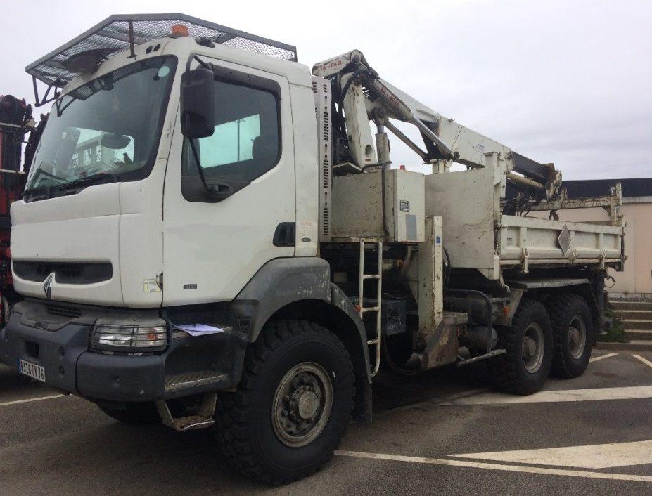 Grue de levage tarière grue de forage camion grue